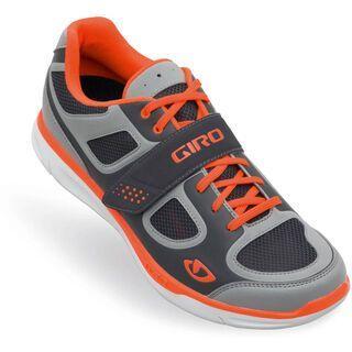 Giro Grynd, silver/fluorescent orange - Radschuhe