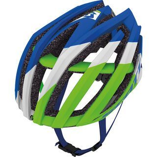 Scott Vanish Evo, blue/green - Fahrradhelm