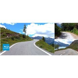 Tacx Real Life Video - Route de Grandes Alpes 2 (Frankreich) - Blu-Ray
