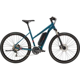 Cannondale Quick Neo Women 2018, teal/red/black - E-Bike