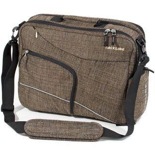 Racktime Work-it Classic, urban brown - Fahrradtasche