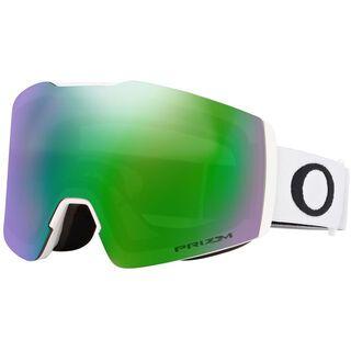 Oakley Fall Line XM Prizm, matte white/Lens: jade iridium - Skibrille