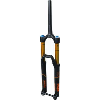 Fox Racing Shox 36 Float FiT4 Factory 27.5 - 170 mm, black/orange - Federgabel
