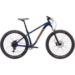 *** 2. Wahl *** Kona Big Honzo DR 2017, blue/copper - Mountainbike | Größe XL // 53 cm