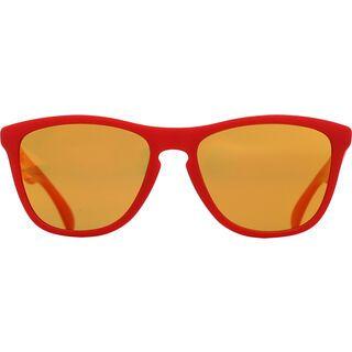 Oakley Frogskins B1B Collection, matte red/fire iridium - Sonnenbrille