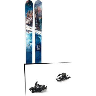 Set: Icelantic Nomad 105 2017 + Marker Alpinist 12 Long Travel (2319303)