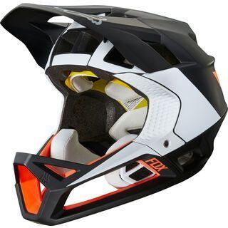Fox Proframe Helmet Gothik, black/white/orange - Fahrradhelm