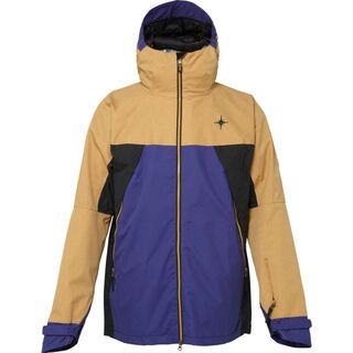 686 Forest Bailey Cosmic Jacket, Camel Colorblock - Snowboardjacke