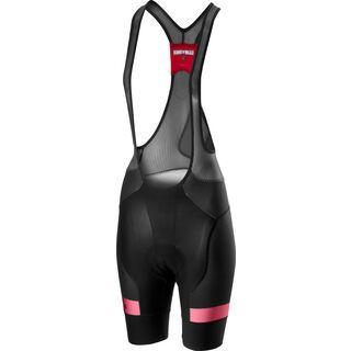 Castelli Free Aero Race 4 W Bibshort, black/pink - Radhose