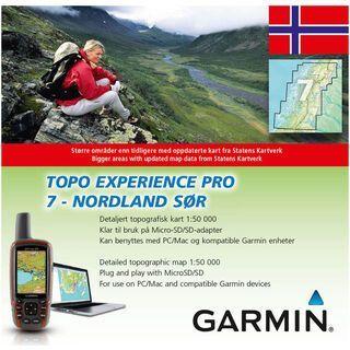 Garmin Topo Norwegen Experience 7 - Nordland Sor - Karte
