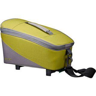 Racktime Talis Trunk Bag Eco, peat bog green/dust grey - Gepäckträgertasche