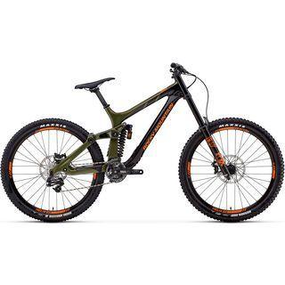 Rocky Mountain Maiden Carbon 50 2018, black/green/orange - Mountainbike