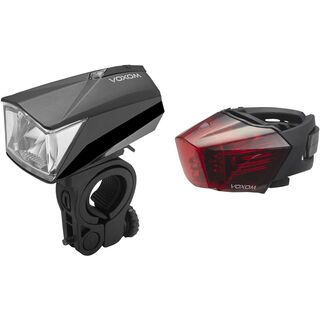 Voxom Fahrradbeleuchtung Set Lv10/Lh6