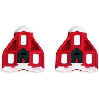 Look Delta Cleats, red - Schuhplatten