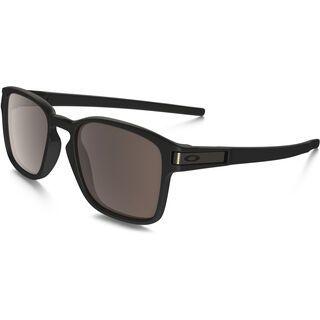 Oakley Latch Square, matte black/Lens: warm grey - Sonnenbrille