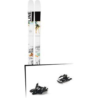 Set: Line Tom Wallisch Pro 2019 + Marker Alpinist 12 Long Travel black/titanium