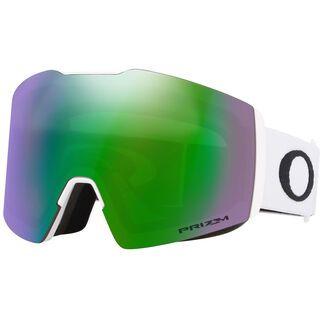 Oakley Fall Line XL Prizm, matte white/Lens: jade iridium - Skibrille