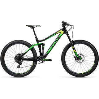 Cube Stereo 140 C:62 SL 27.5 2016, carbon´n´green - Mountainbike