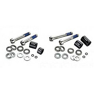 Avid Disc Adapter Standard/CPS 20 mm Postmount für 180/160 mm Rotor vorn/hinten, Stahlschrauben, schwarz