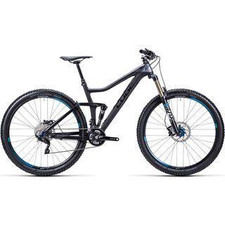 Cube Stereo 140 HPC Pro 29 2015, carbon/grey/blue - Mountainbike