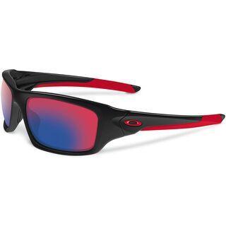Oakley Valve, polished black/+red iridium - Sonnenbrille