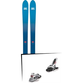 Set: DPS Skis Wailer F106 Foundation 2018 + Marker Squire 11