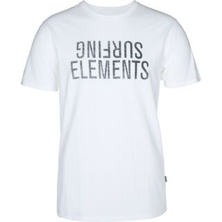 ION Tee SS Surfing Elements, white - T-Shirt