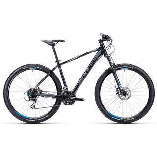 Cube Aim SL 27.5 2015, black/grey/blue - Mountainbike