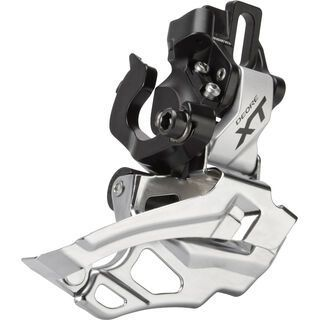 Shimano Umwerfer Deore XT FD-M786 2x10 Down Swing - Direct-Mount, silber