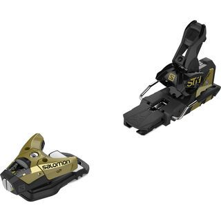 Salomon STH2 WTR 16 115 mm, gold/black - Skibindung