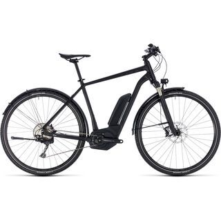 Cube *** 2. Wahl *** Cross Hybrid SL Allroad 500 | Größe 50 cm 2018, black edition - E-Bike