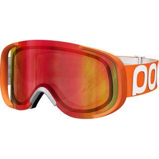 POC Cornea Flow, orange/persimmon-red mirror - MX Brille