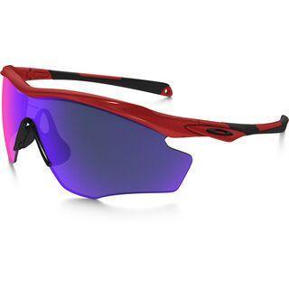 Oakley M2 Frame XL, redline/Lens: positive red iridium - Sportbrille