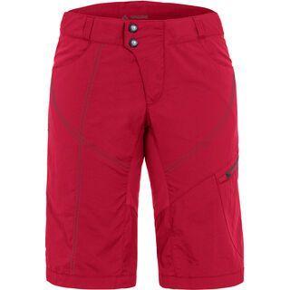 Vaude Womens Tamaro Shorts inkl. Innenhose, indian red - Radhose