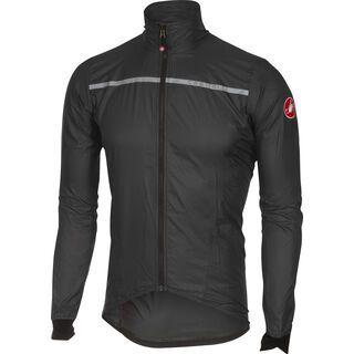 Castelli Superleggera Jacket, anthracite/yellow fluo - Radjacke