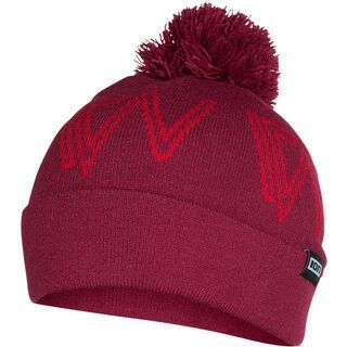ION Beanie Tag, combat red