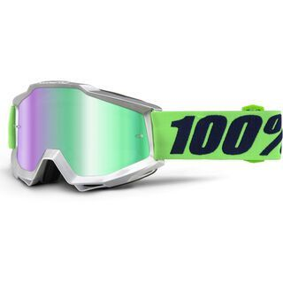 100% Accuri inkl. WS, nova/Lens: mirror green - MX Brille