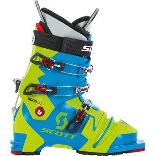 Scott Voodoo 2015, Blue/Green - Skiboots