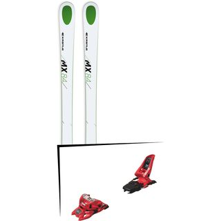 Set: Kästle MX84 2018 + Marker Squire 11 ID red