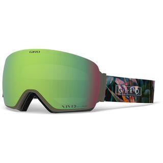 Giro Lusi inkl. WS, electric petal/Lens: vivid emerald - Skibrille