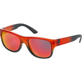 Scott Lyric, orange matt/black red chrome - Sonnenbrille