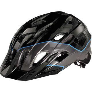 Alpina Yedon, black titanium blue - Fahrradhelm