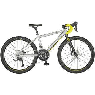 Scott Gravel 400 pale grey matt/black/radium yellow 2021