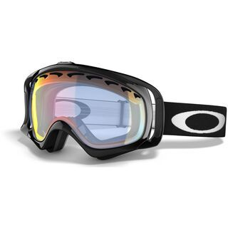 Oakley Crowbar, Jet Black/Fire Iridium - Skibrille