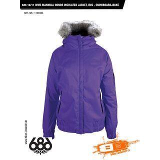 686 Mannual Honor Insulated Jacket, Iris - Snowboardjacke