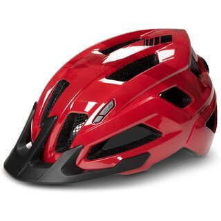 Cube Steep, glossy red - Fahrradhelm