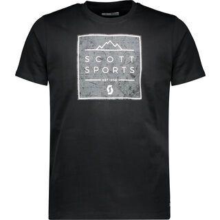 Scott 10 Casual S/SL Tee, black - T-Shirt
