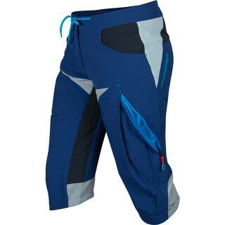 Platzangst Women Smiley Shorts, blue - Radhose