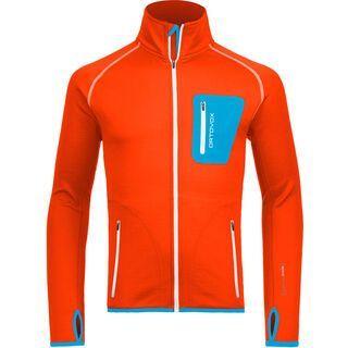 Ortovox Fleece Merino Jacket, crazy orange - Fleecejacke
