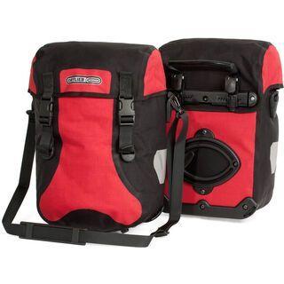 Ortlieb Sport-Packer Plus, rot-schwarz - Fahrradtasche